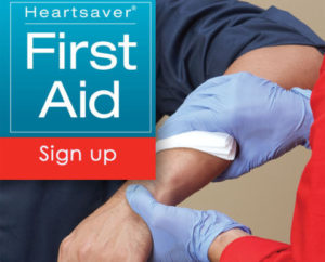 AHA Heartsaver First Aid Certification Classes