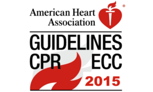 All CPR and AED Certification Classes conforms to the 2015 AHA Guidelines Update for CPR and ECC