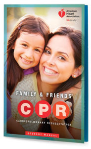 AHA Family & Friends CPR Class Book Cover