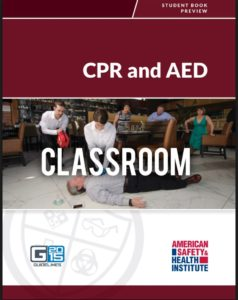 ASHI Basic CPR and AED Classroom Course Book Cover