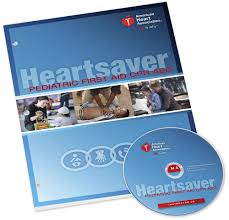 AHA Heartsaver First Aid Workbook and DVD