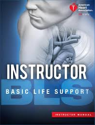 AHA Basic Life Support Instructor Book Cover