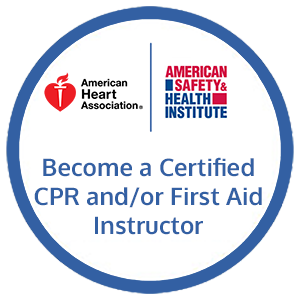 AHA and ASHI CPR and First Aid Instructor Certification Course