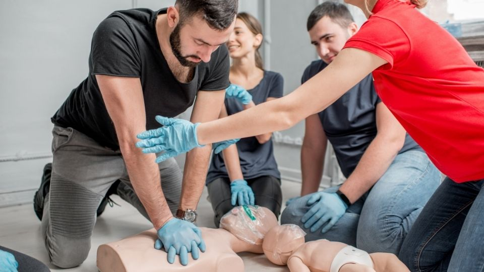 cpr certification aed certification training